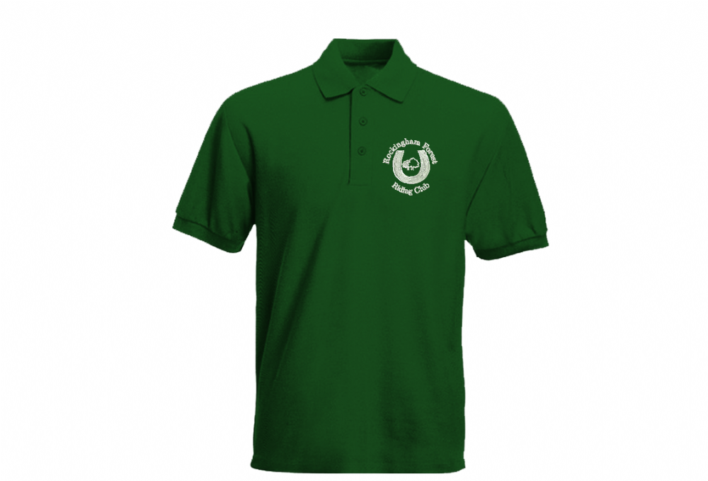ADULT Rockingham Forest Riding Club Polo Shirt